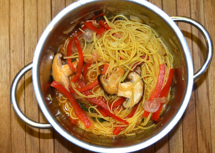 Sriracha Broth with Noodles