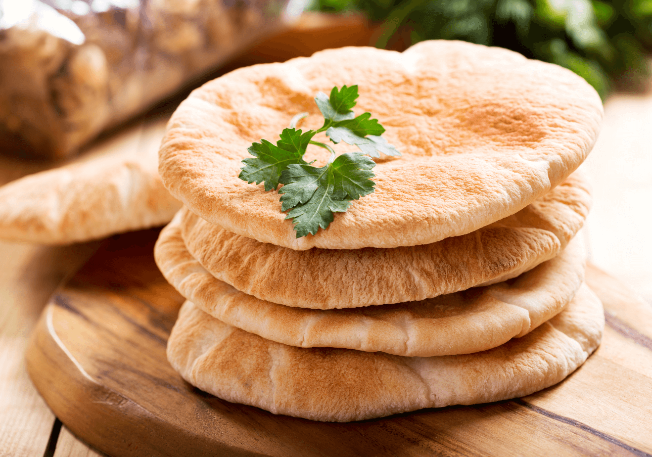 Pita Bread from the Middle East
